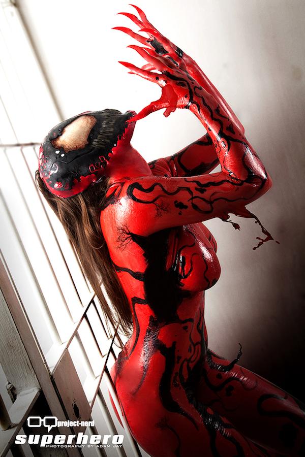 Superhero Creations Carnage Cosplay 8