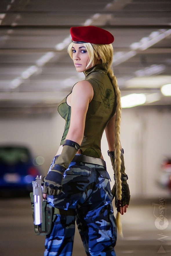 Street fighter cammy cosplay naked
