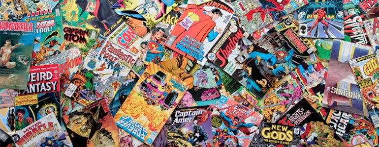 Reading Comics as an Adult: 7 Non-Superhero Comics I Want to Read