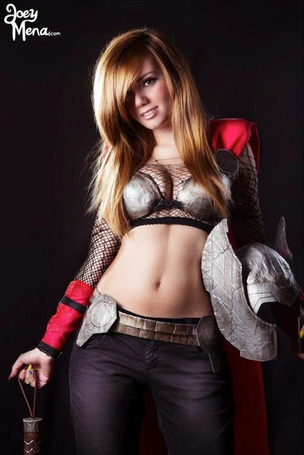 incredible lady thor cosplay project nerd