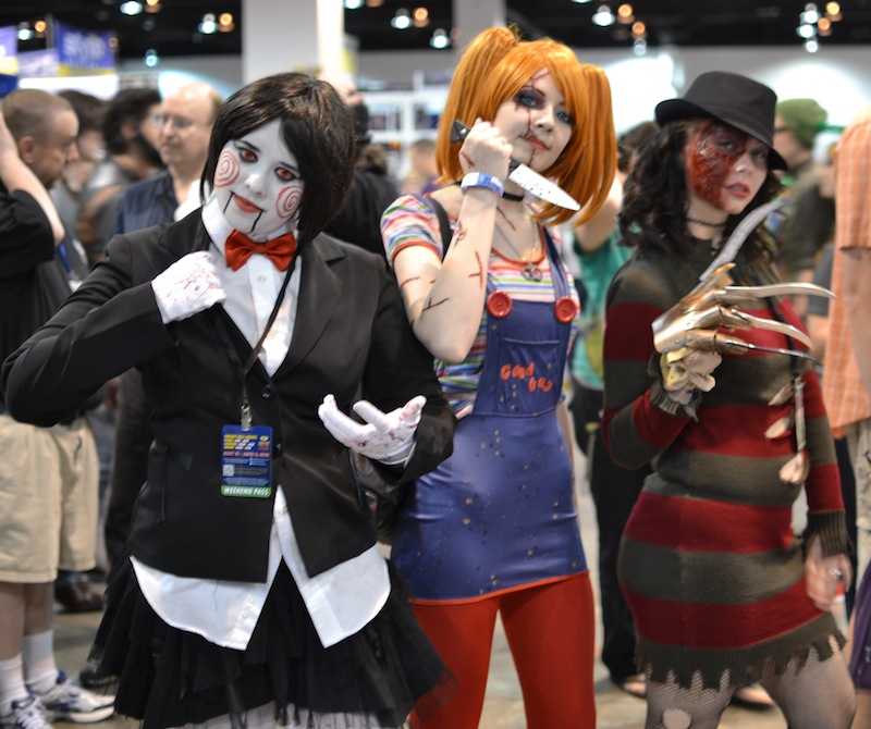 top 5 best horror cosplays at denver comic con toylab