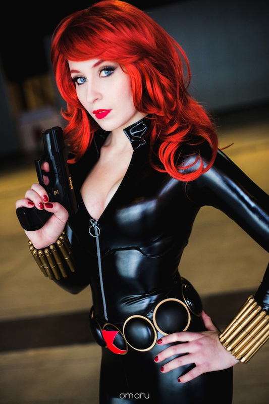 Black widow marvel cosplay - photo#9