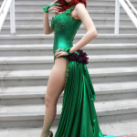 Poison Ivy Cosplay SDCC 13 1