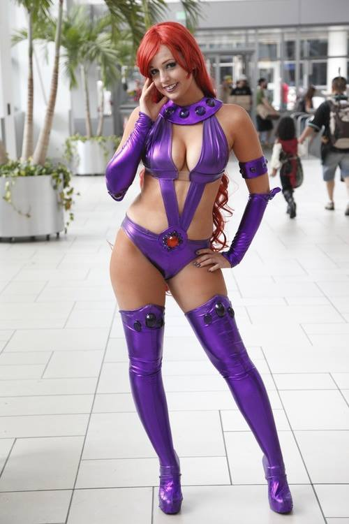 DC Comics lanza su propio streaming y... Starfire-DDot-Cosplay-5