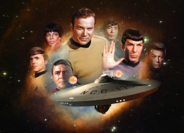 Star Trek Blue Uniform Costume