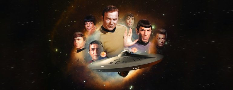 'Star Trek: 50 Artists 50 Years' Hardcover Book is a Must