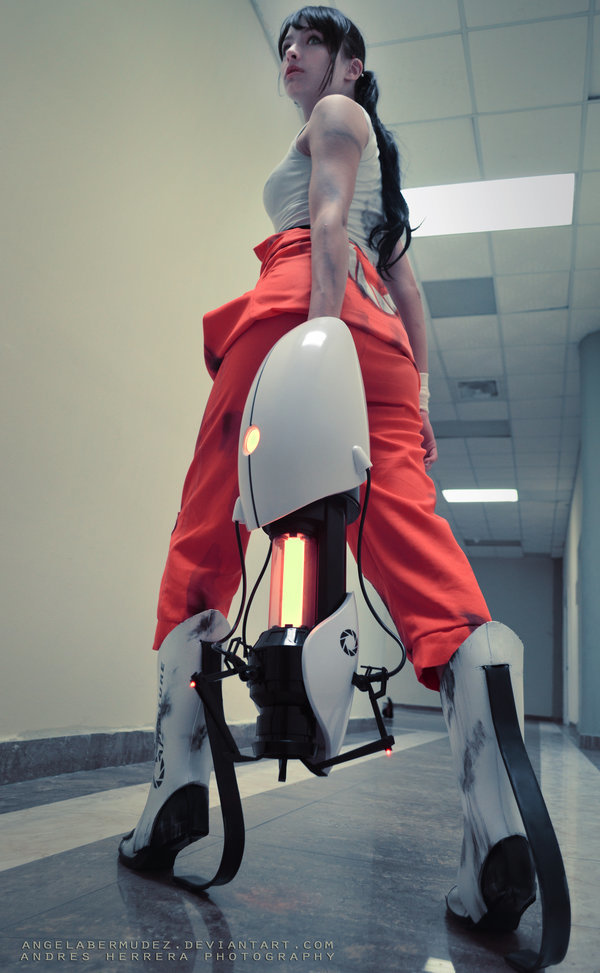 Chell Portal 2 Cosplay Project Nerd