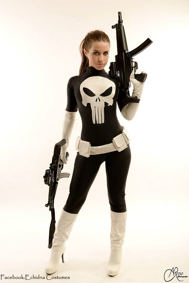 The punisher female cosplay
