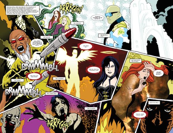 Armageddon Hell Comic