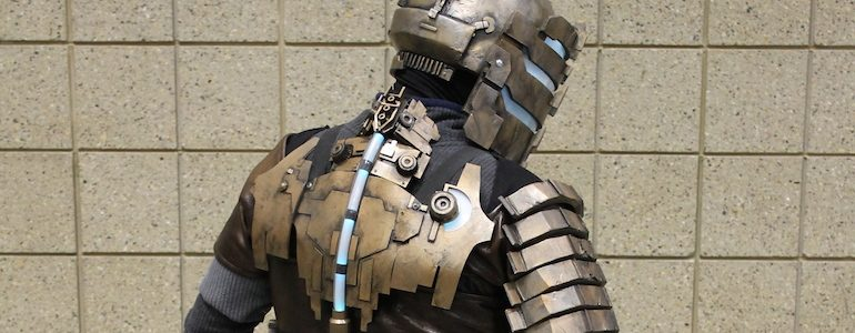 2014 Planet Comicon: Dead Space Armor Cosplay