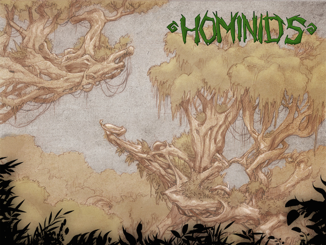 Hominids Comic DCC14