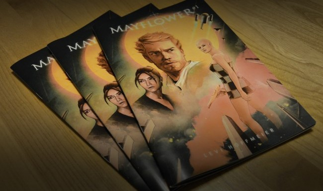 Mayflower Comics