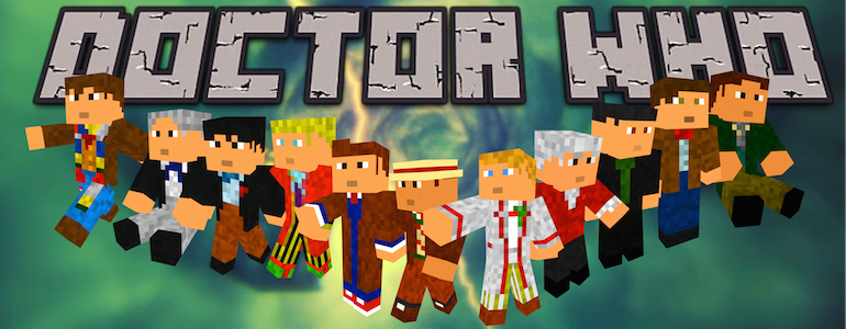 Doctor Who Is Coming to Minecraft
