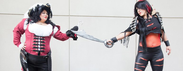 Lady Rufio vs Lady Hook Cosplay Gallery