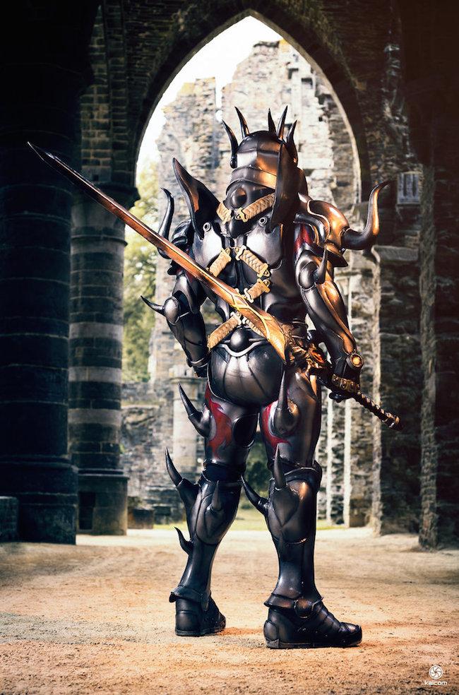 Cecil Harvey Dark Knight Cosplay 3