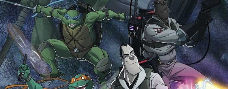 'Teenage Mutant Ninja Turtles/Ghostbusters #1-4' Comic Review