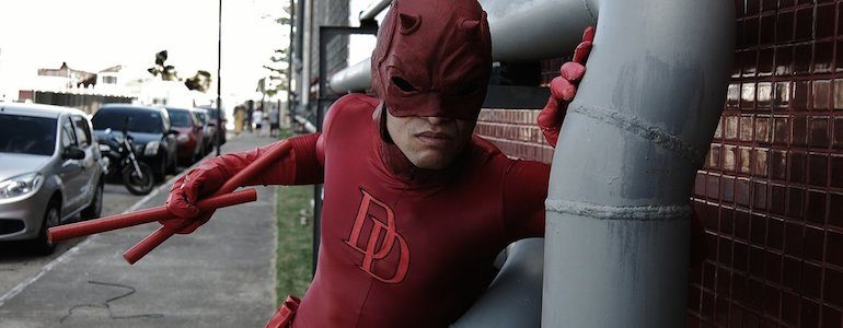Awesome Daredevil Cosplay
