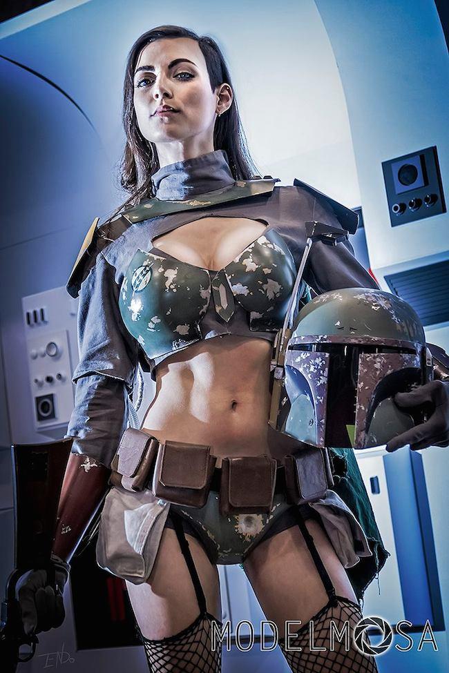 leeanna vamp s boba fett cosplay   project nerd