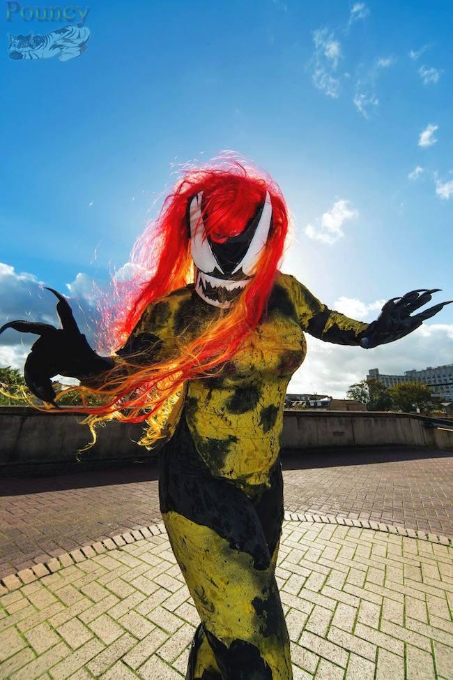 Marvel S Scream Cosplay Gallery Project Nerd