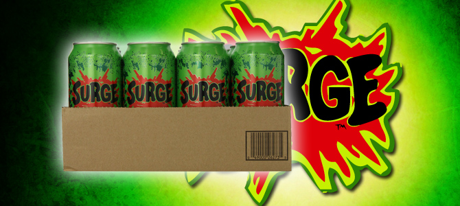 The Ten Obscure Surge Soda