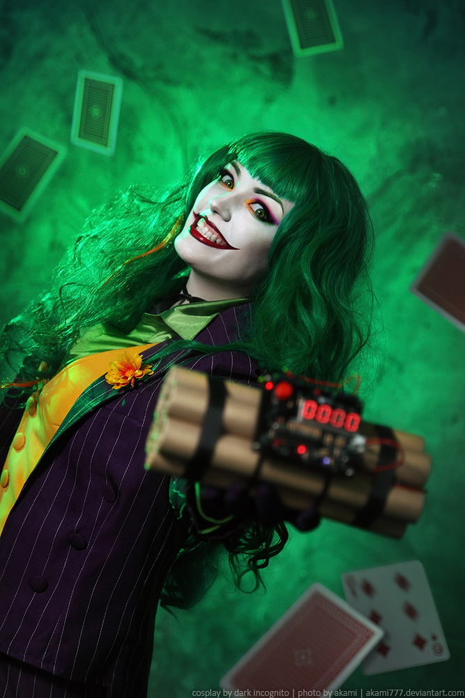 Incredible Female Joker Cosplay - Project-Nerd