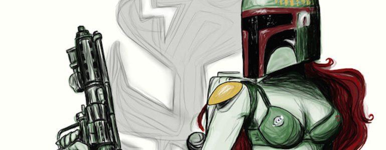 Star Wars Pinup Fan Art