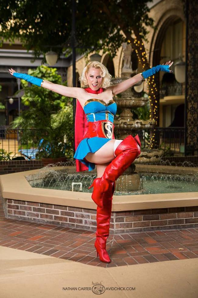 Candy Keane DC Bombshells Collection Supergirl