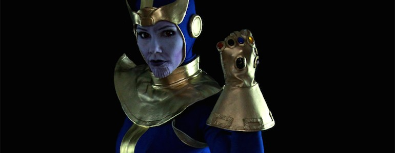Rule 63 Thanos Cosplay