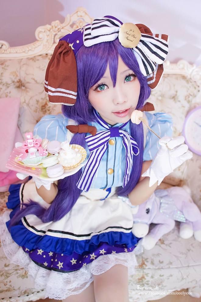 live nozomi cosplay Love
