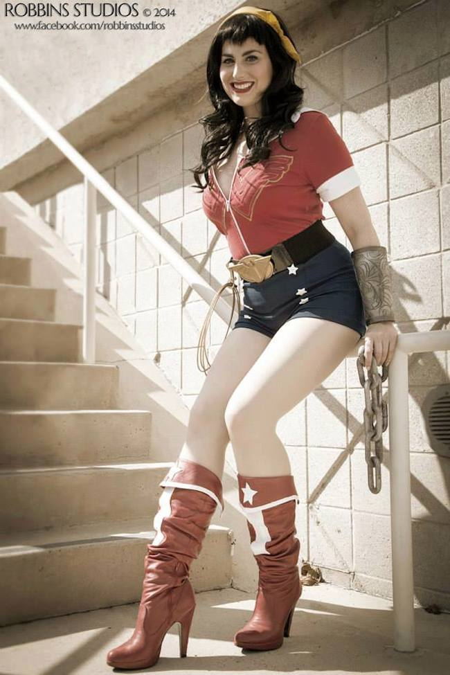 Meagan Marie Dark-Star DC Bombshells Collection Wonder Woman