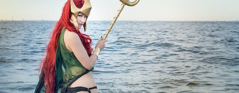 'Flashpoint' Mera Cosplay Gallery
