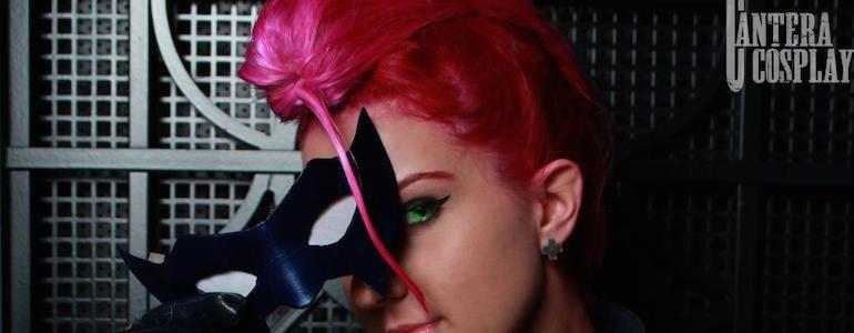 S.I.N. Agent Crimson Viper Cosplay