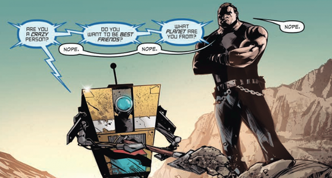 'Borderlands Volume 2: The Fall of Fyrestone' Comic Review ... Borderlands Character Backstory