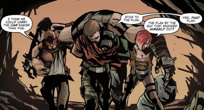 'Borderlands Volume 2: The Fall of Fyrestone' Comic Review ... Borderlands Character Backstory
