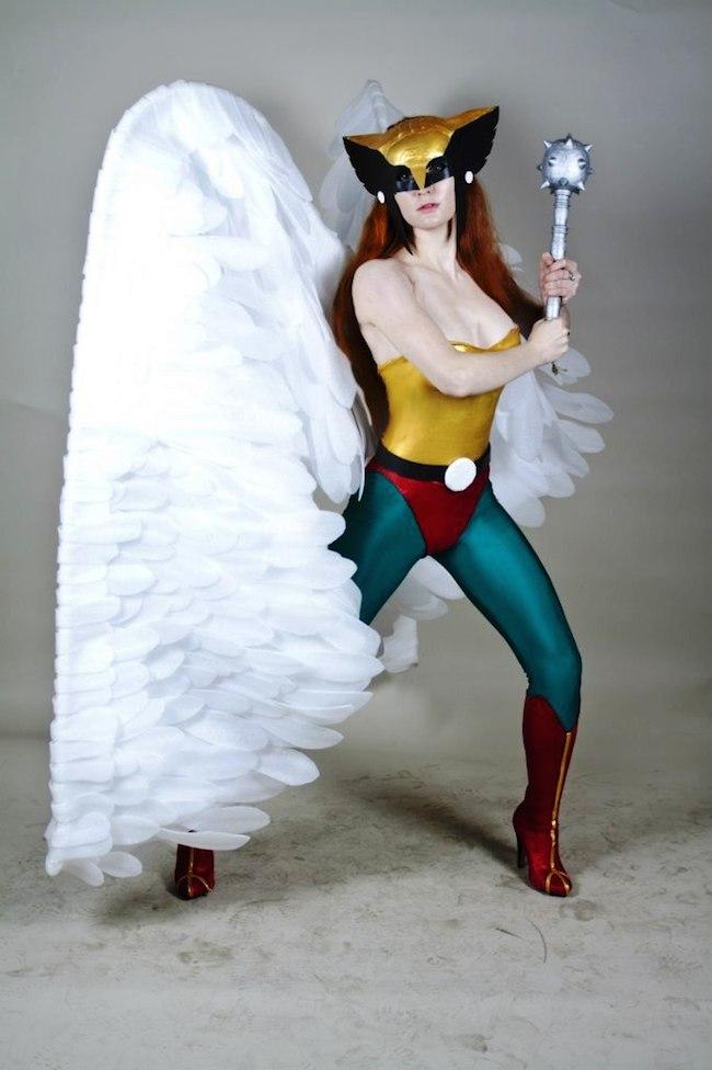 AsherWarr Hawkgirl Cosplay Collection