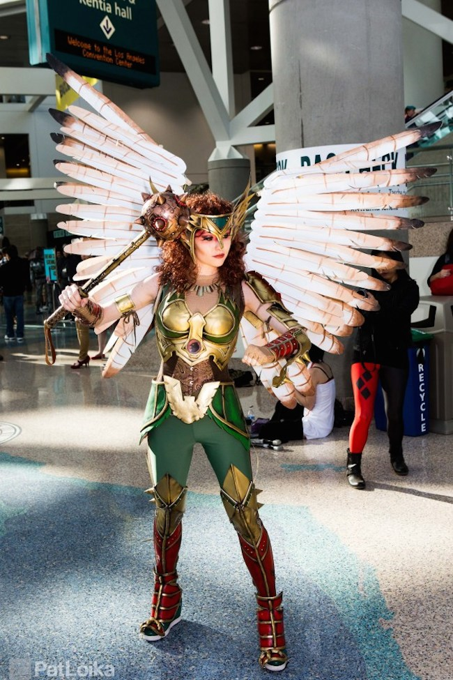 Axceleration Hawkgirl Cosplay Collection