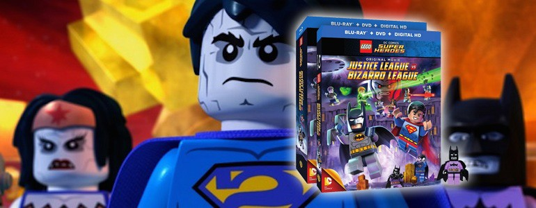 'Lego DC Comics Super Heroes: Justice League vs. Bizarro League' Blu-ray Review