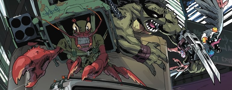 'TMNT: Mutanimals #1' Comic Review