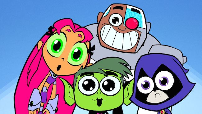 Teen Titans Go S2 V1 Announce 2