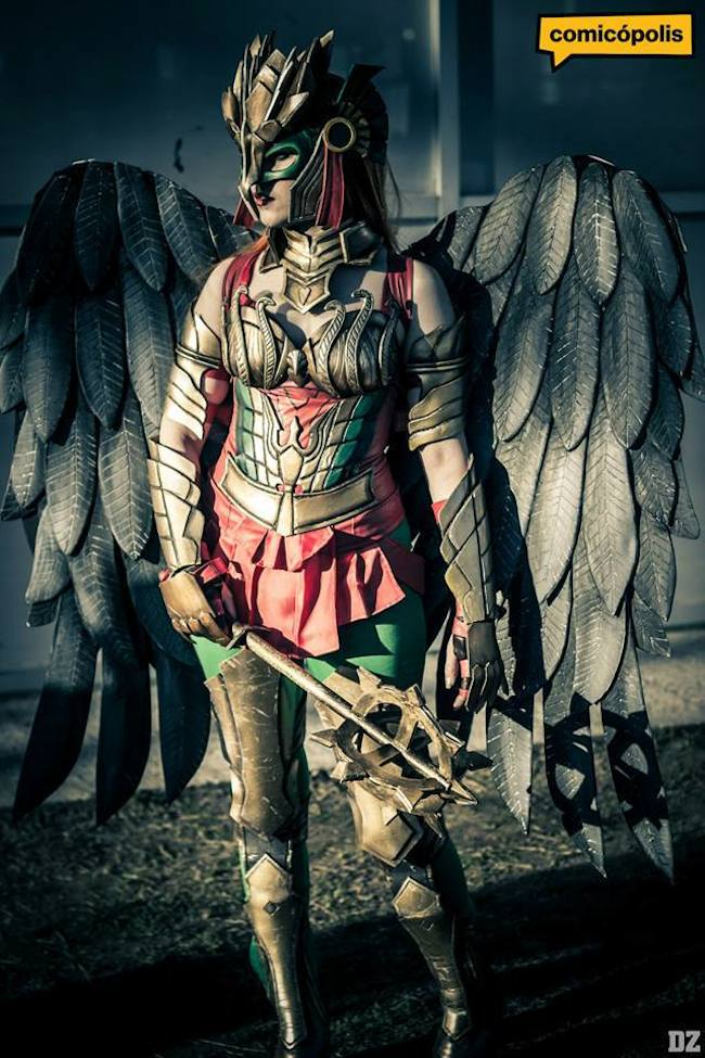 Tify Diamond 2 Hawkgirl Cosplay Collection