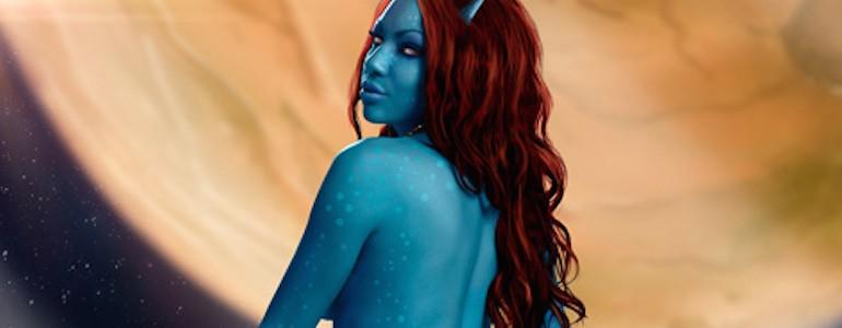 Alien Beauty Photoshoot