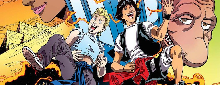"""""""Bill & Ted's Most Triumphant Return"""" #1 Comic Review"""