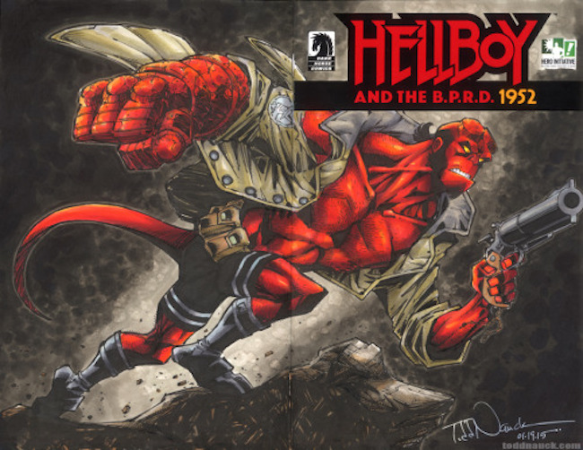 Hero Initiative Hellboy