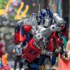 Optimus Prime Costume Shoot