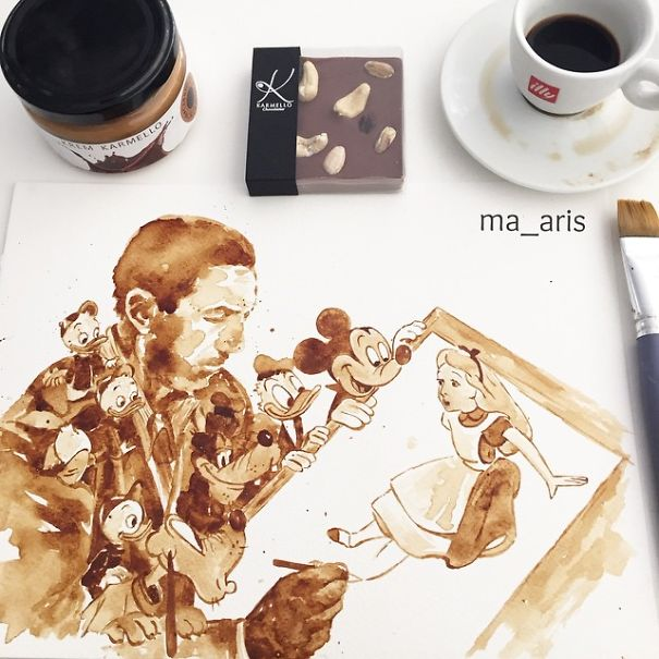 Coffee Art 10