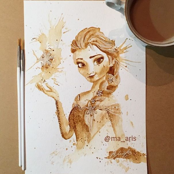 Coffee Art 7