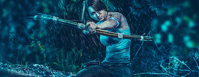 Fantastic Lara Croft Cosplay