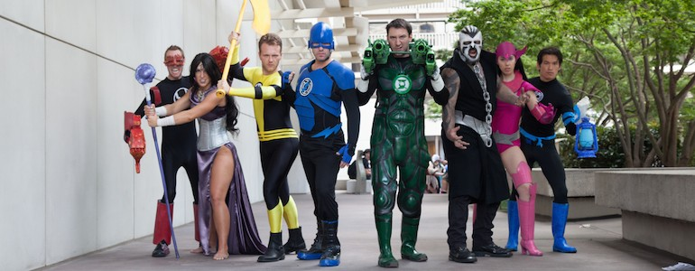 Awesome Lantern Corps Cosplay Shoot