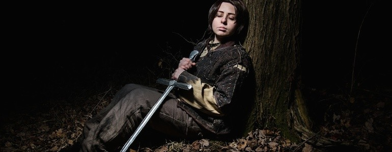 Awesome Arya Stark Cosplay