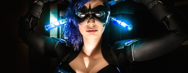 Genderbent Nightwing Cosplay
